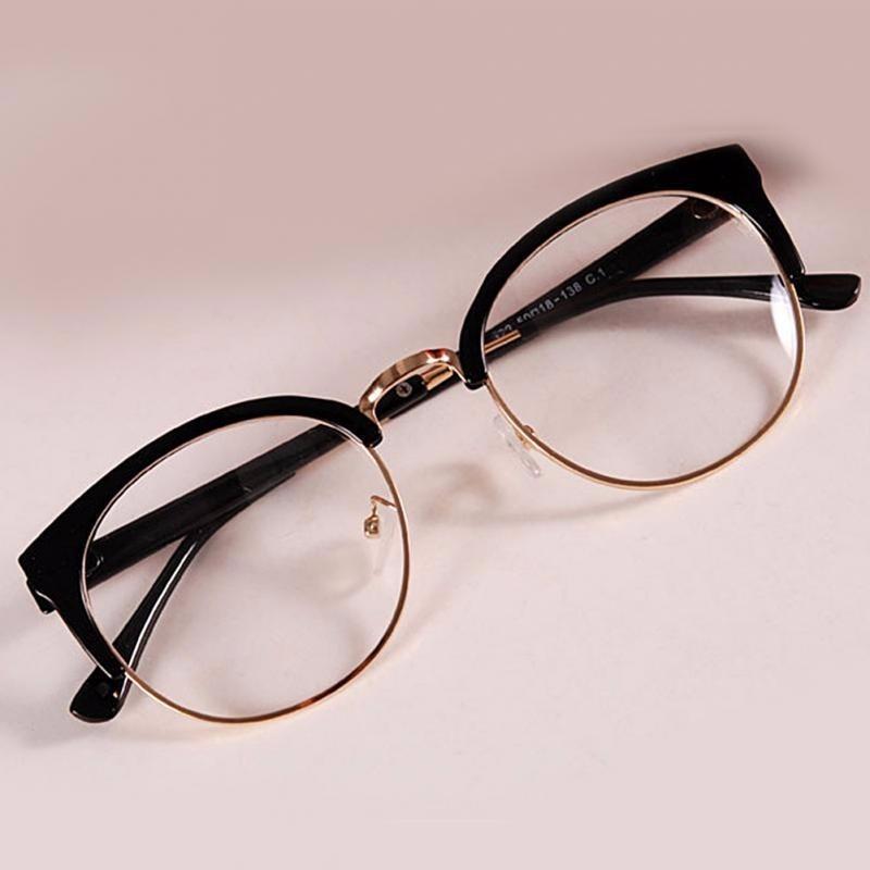 6245eef208dd3 armação oculos retro projeto simples de grau feminino 2018. Carregando zoom.
