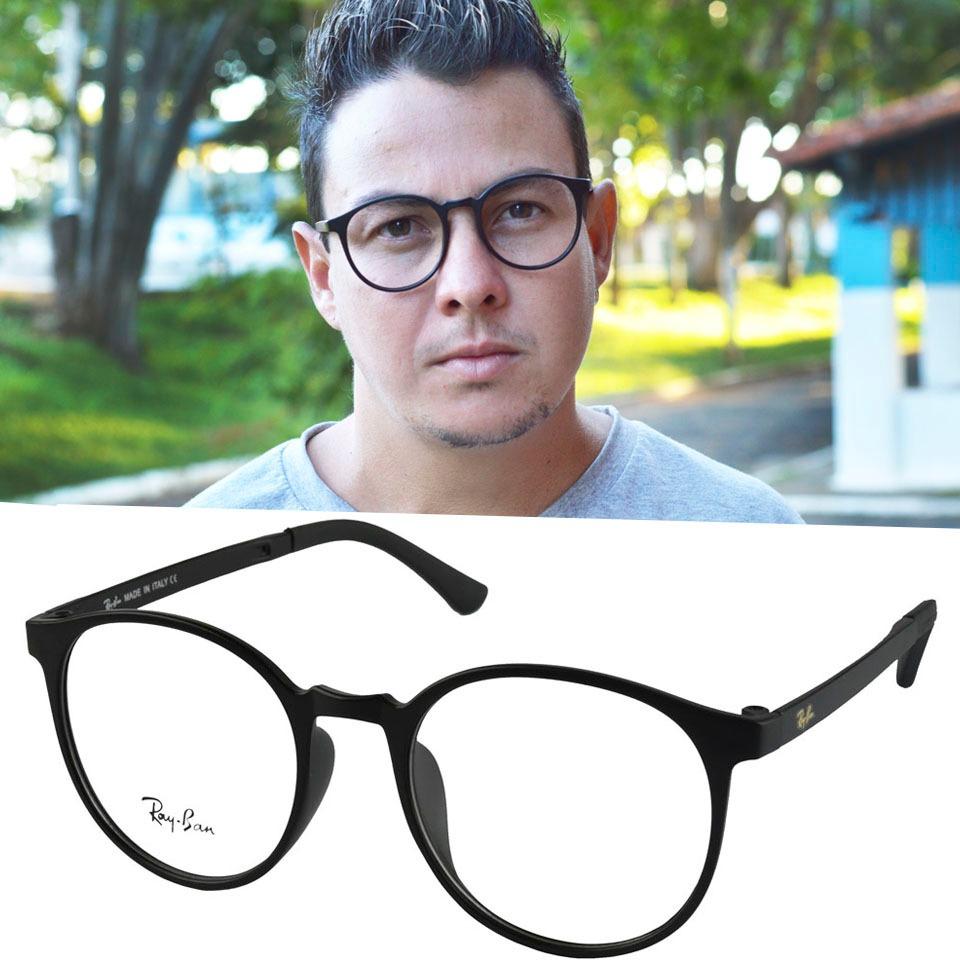 525b049a3bfbe armação oculos retro redondo garantia masculino homem grau. Carregando zoom.