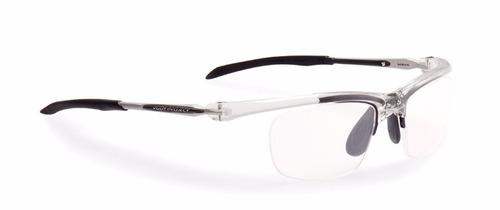armação óculos rudy maya cristal preto r30 original