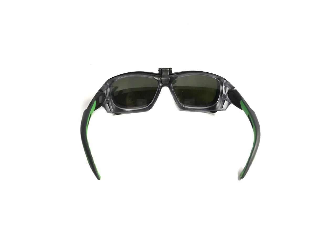 7842ea2c04ce2 armação óculos segurança + clip on para soldador   ir05. Carregando zoom.
