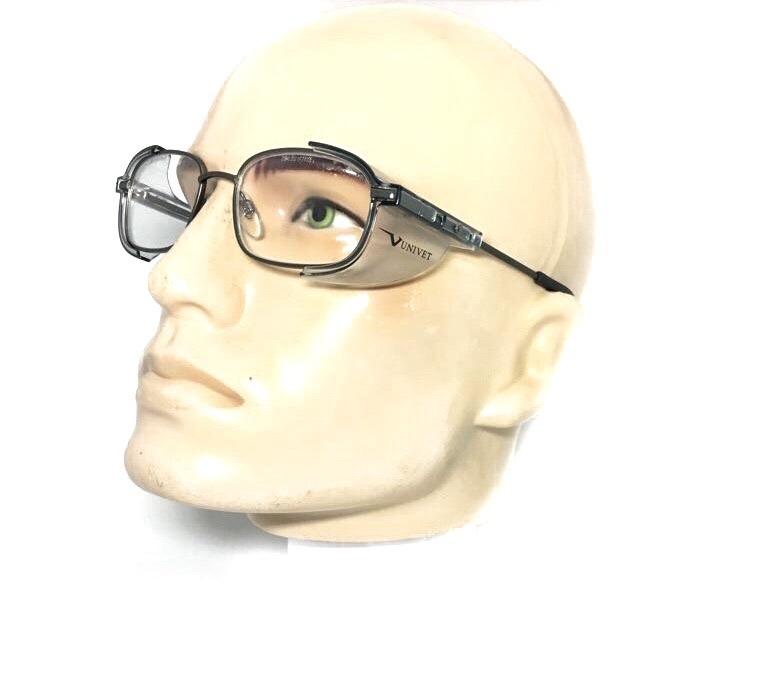 1dd24ee39 Armação Óculos Segurança P/ Lente De Grau Univet 536 Epi - R$ 104,99 ...
