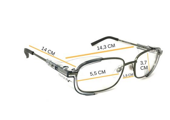 932350289b567 Armação Óculos Segurança P  Lente De Grau Univet 536 Epi - R  104