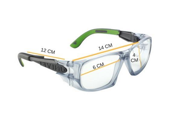 495bf913f76cb Armação Óculos Segurança P  Lente De Grau Univet 5x9 Epi - R  75