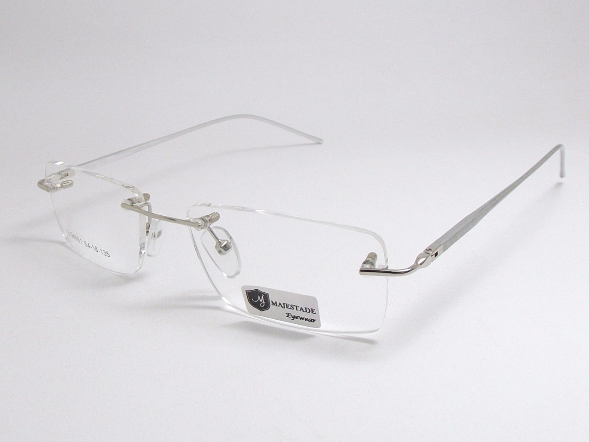 armação óculos sem aro balgriff aluminio 180 lg6051 c4 pr mj. Carregando  zoom. c2e6375d5f