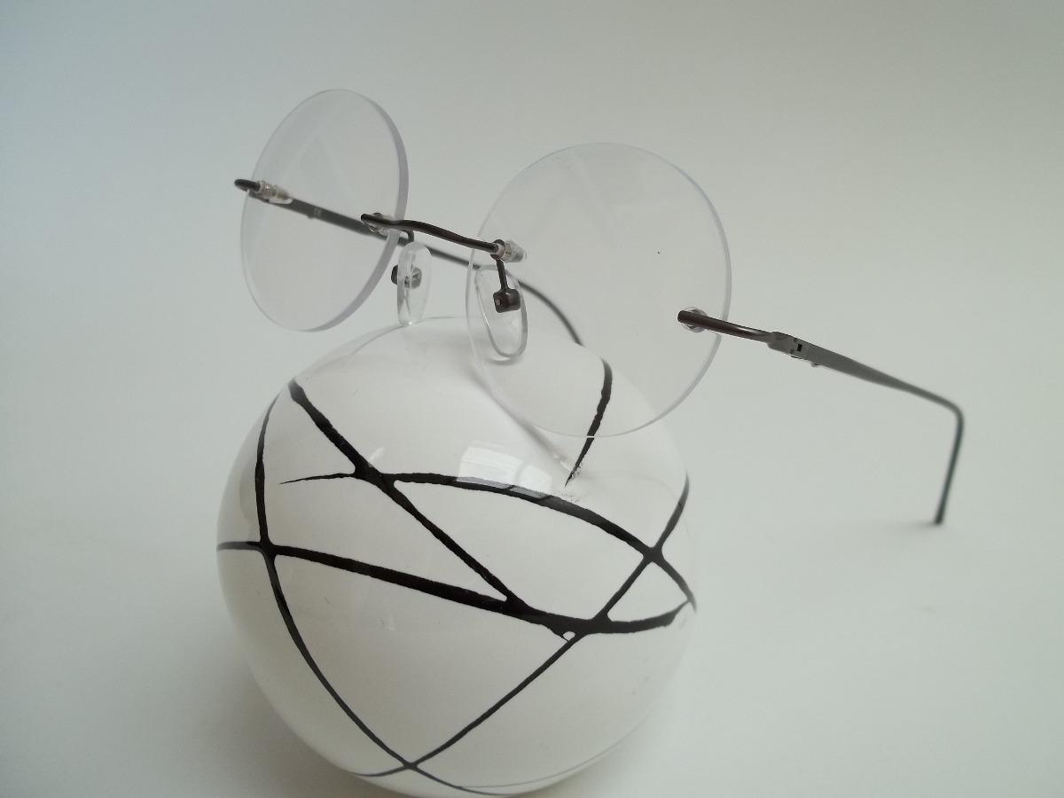 0df296584 armação óculos sem aro redondo - john lennon - harry potter. Carregando  zoom.