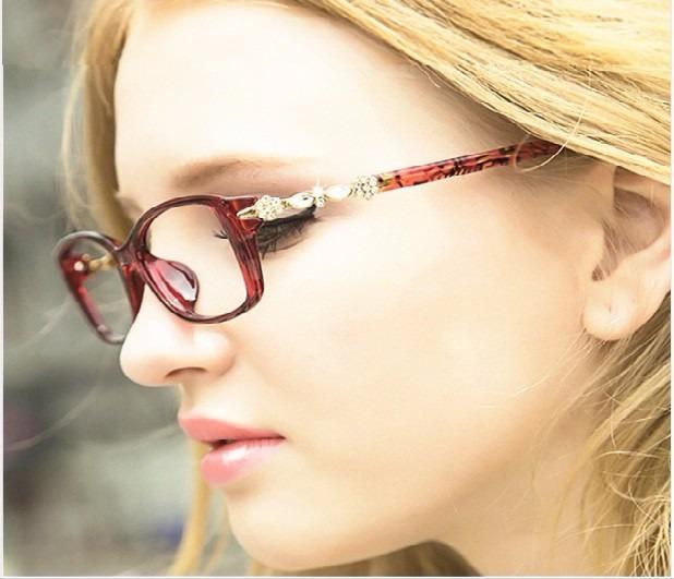 Armação Óculos Sem Grau Acessório Descanso Estética Novo Za - R  89 ... d76b464d5c