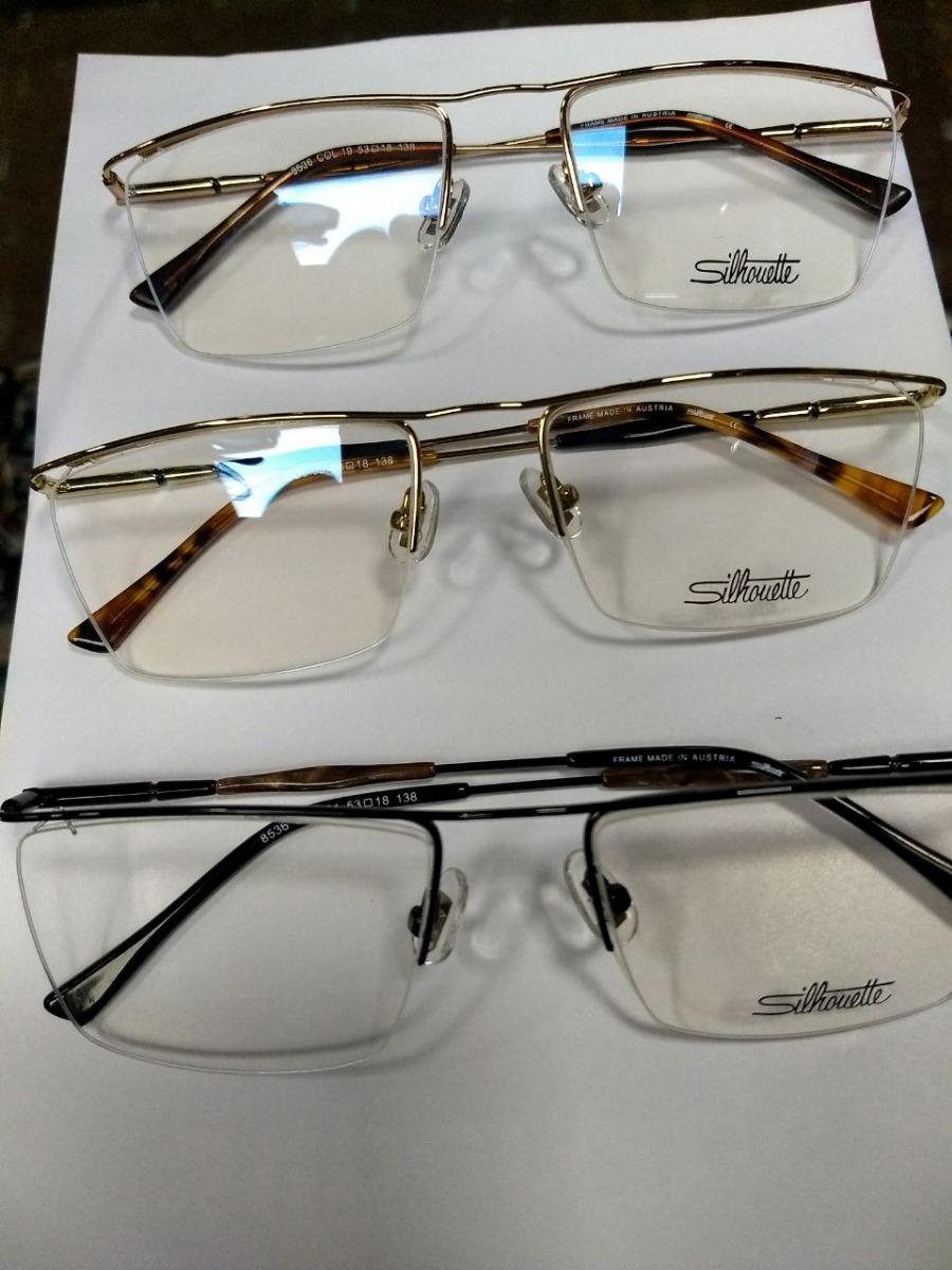 9cefd6e3256b9 armação óculos silhouette emporio armani modelos variados. Carregando zoom.