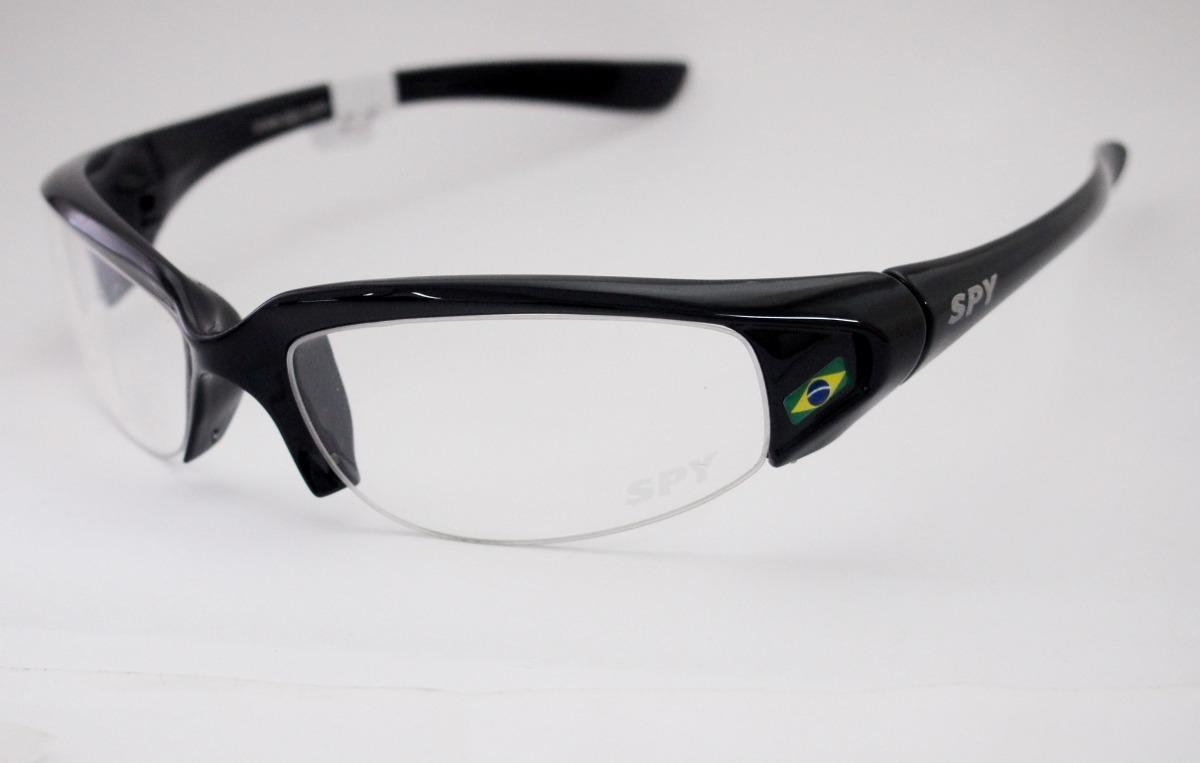 7da4cafc7dbbf Carregando zoom... óculos spy armação. Carregando zoom... armação para óculos  spy esportivo curvado preto 50 mmx