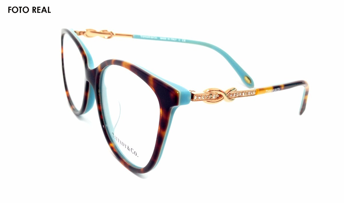 fccea9438fafa Armação Óculos Tiffany E Co. Tf2143 - R  540,00 em Mercado Livre