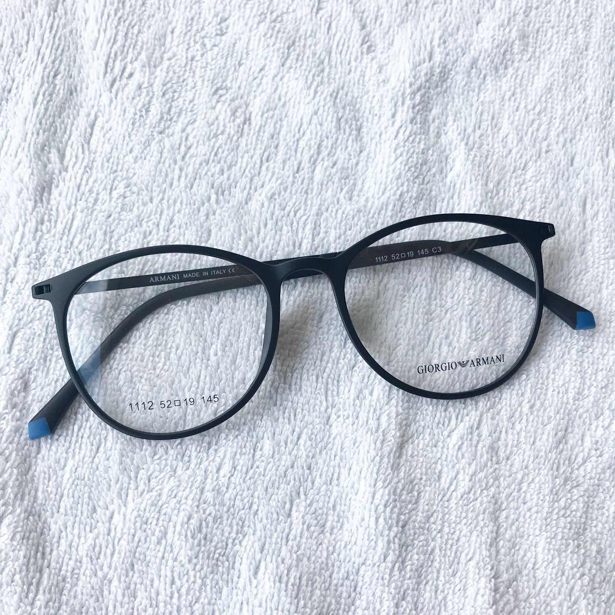 4a4d02092c84c Armação Óculos Titânio Acetato Redondo Masculino E Feminino - R  99 ...