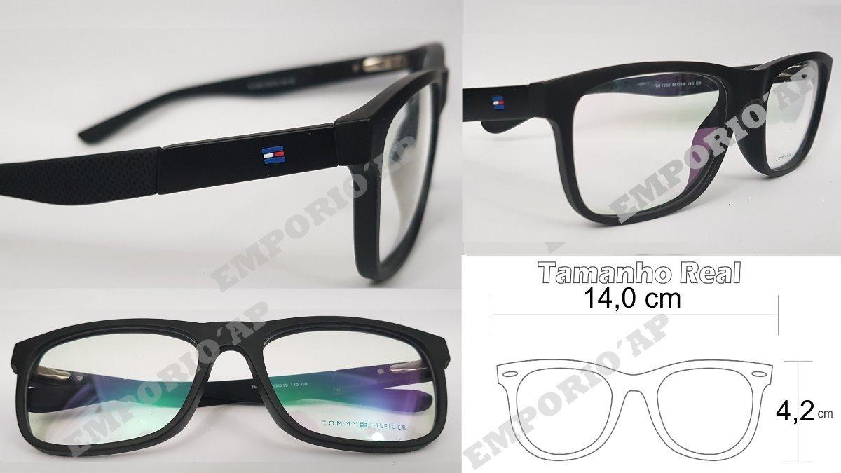 533117668856f armação oculos p  grau feminina tommy hilfiger premium acet. Carregando  zoom.