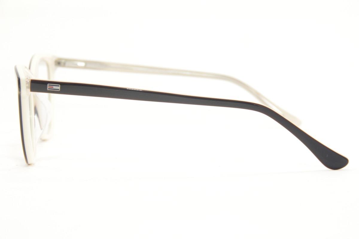 d62a6691fe987 Armação Feminina Para Óculos De Grau Tommy Hilfiger 1352 - R  125