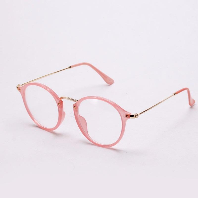 6eea0c87918e5 Armação Óculos Vintage Feminino Preto Rosa Leopardo - R  92,90 em ...