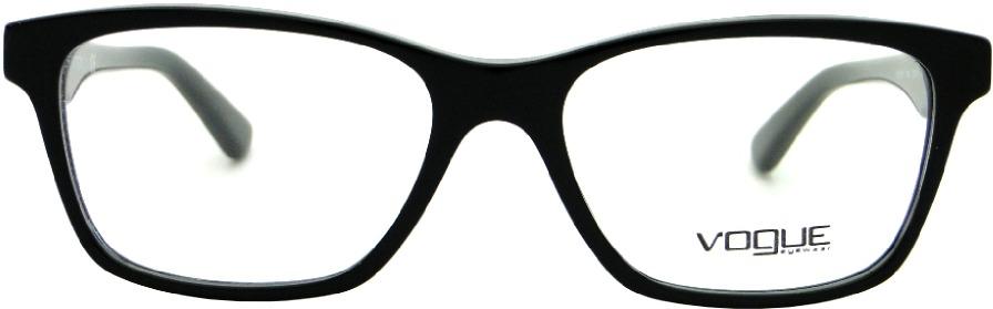 67ddb9cd5b4e7 Armação Para Óculos De Grau Vogue Vo 2787 Feminina Retrô - R  349