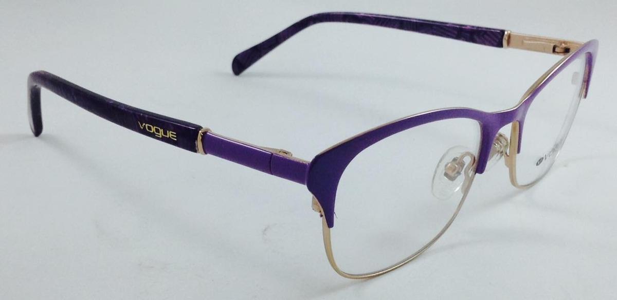 5a3b428cc201f Armação Óculos De Grau Vogue Promoção Dias Das Mãe!!!! - R  160