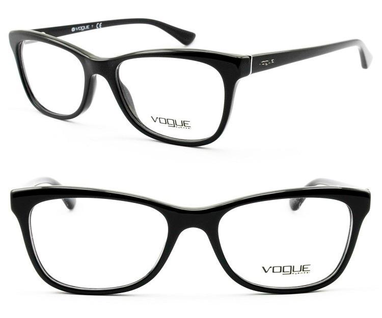 Armação Feminina Para Óculos De Grau Vogue Original - Vo2763 - R ... 78cb51a9c4