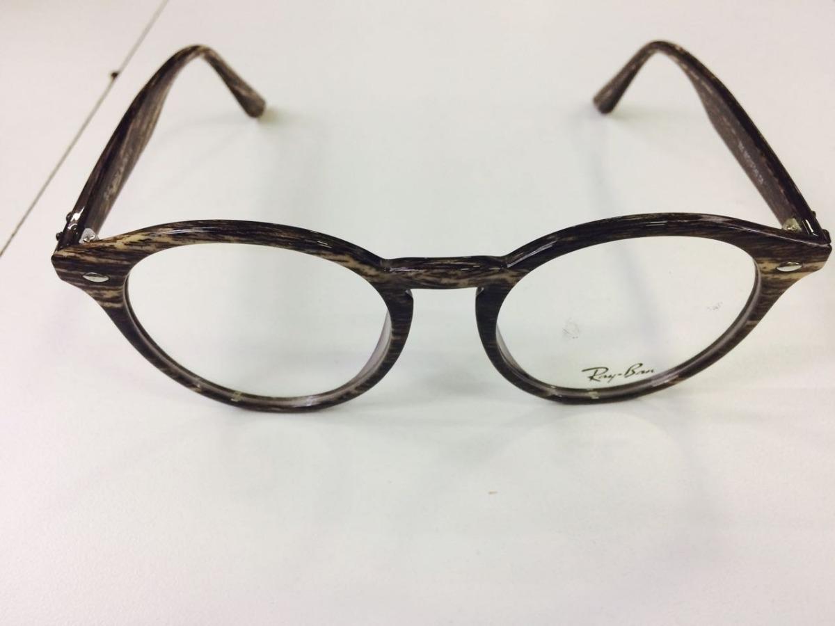 8d0084cc13275 armação p  grau marrom oculos vintage acetato retro -rb400. Carregando zoom.