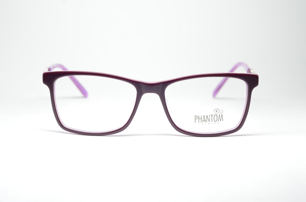 c114180f748b3 Armação P  Grau Óculos Acetato Qualidade Reforçado Feminino - R  74 ...