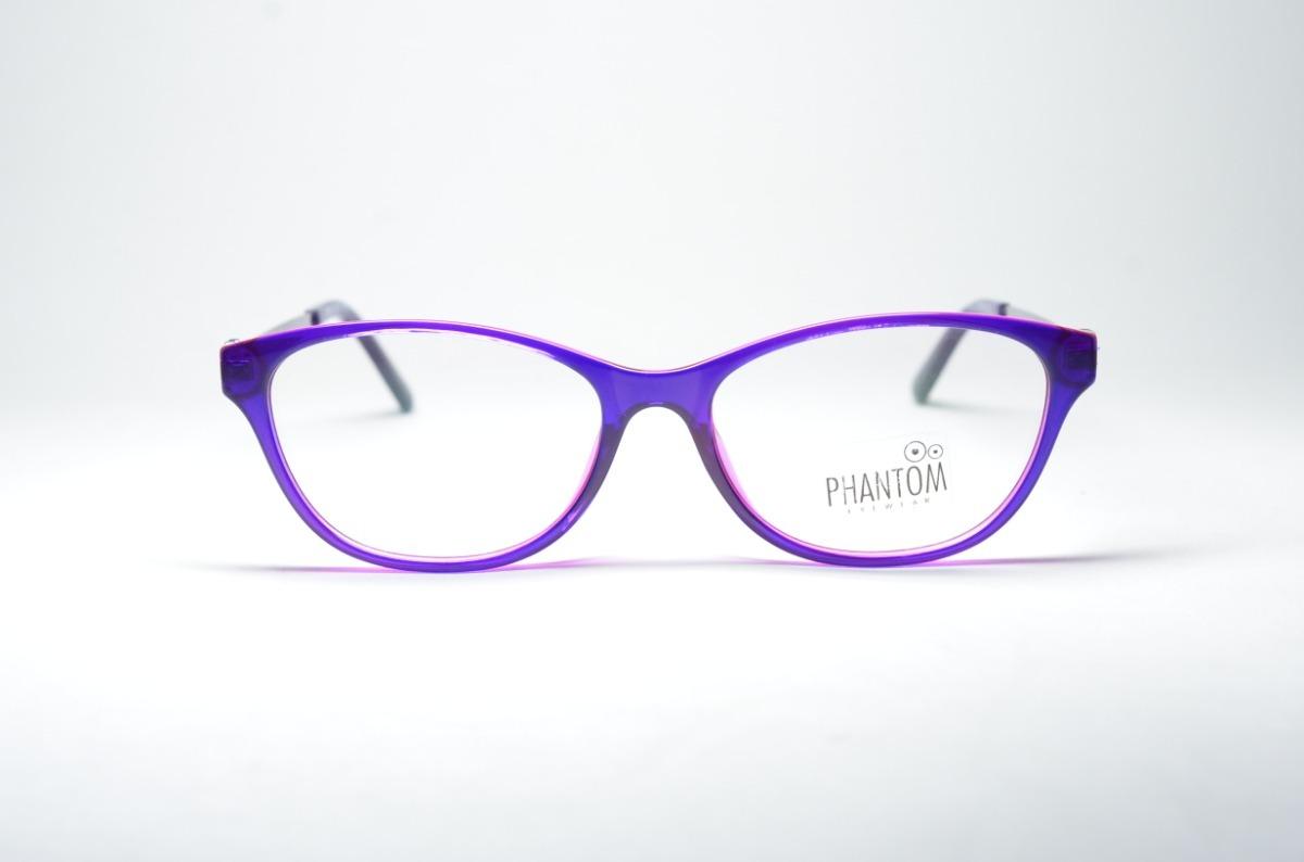ceeeeb4109d67 Armação P  Grau Óculos Feminino Acetato Degradê Redondo Moda - R  74 ...