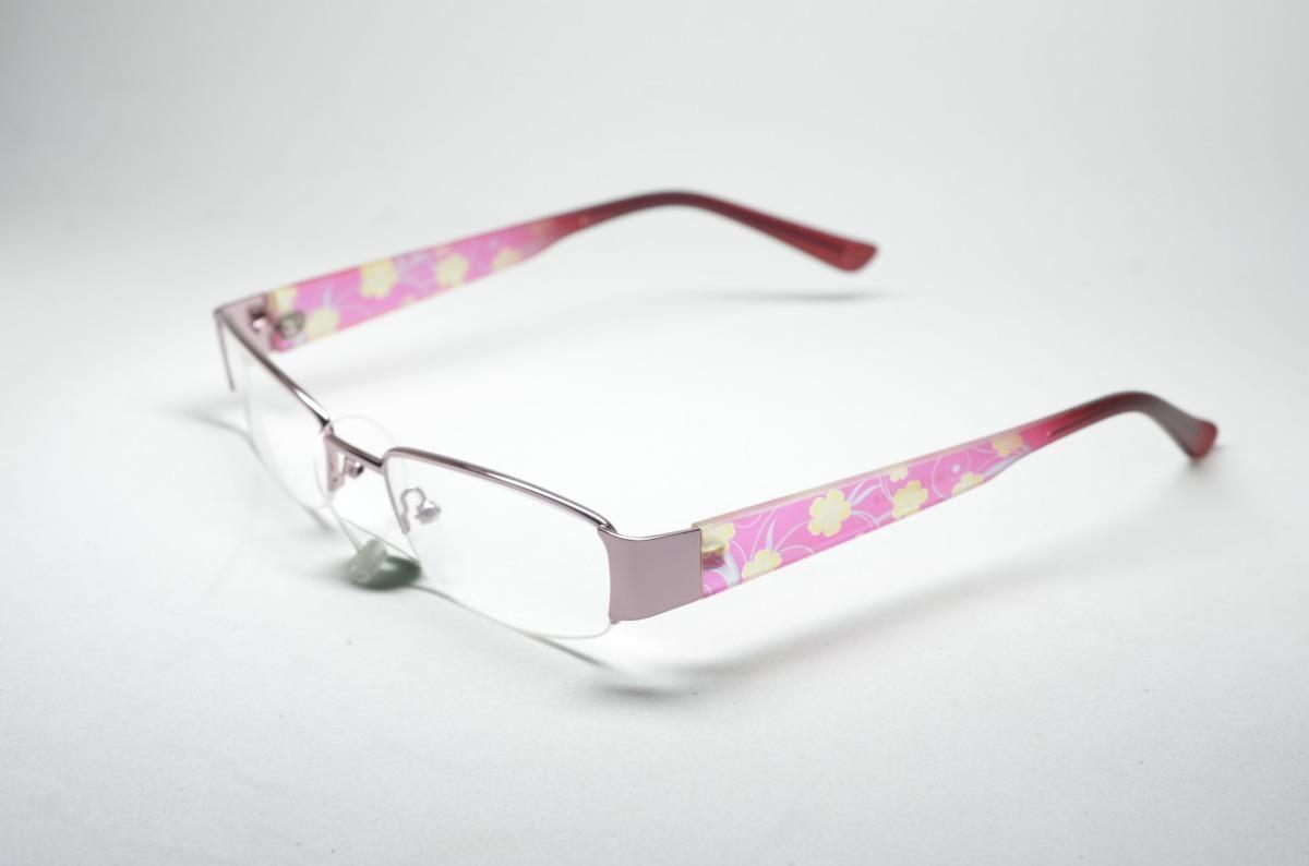 7d42c8a9f09d8 armação p  grau óculos infantil tr feminino quadrado florido. Carregando  zoom.