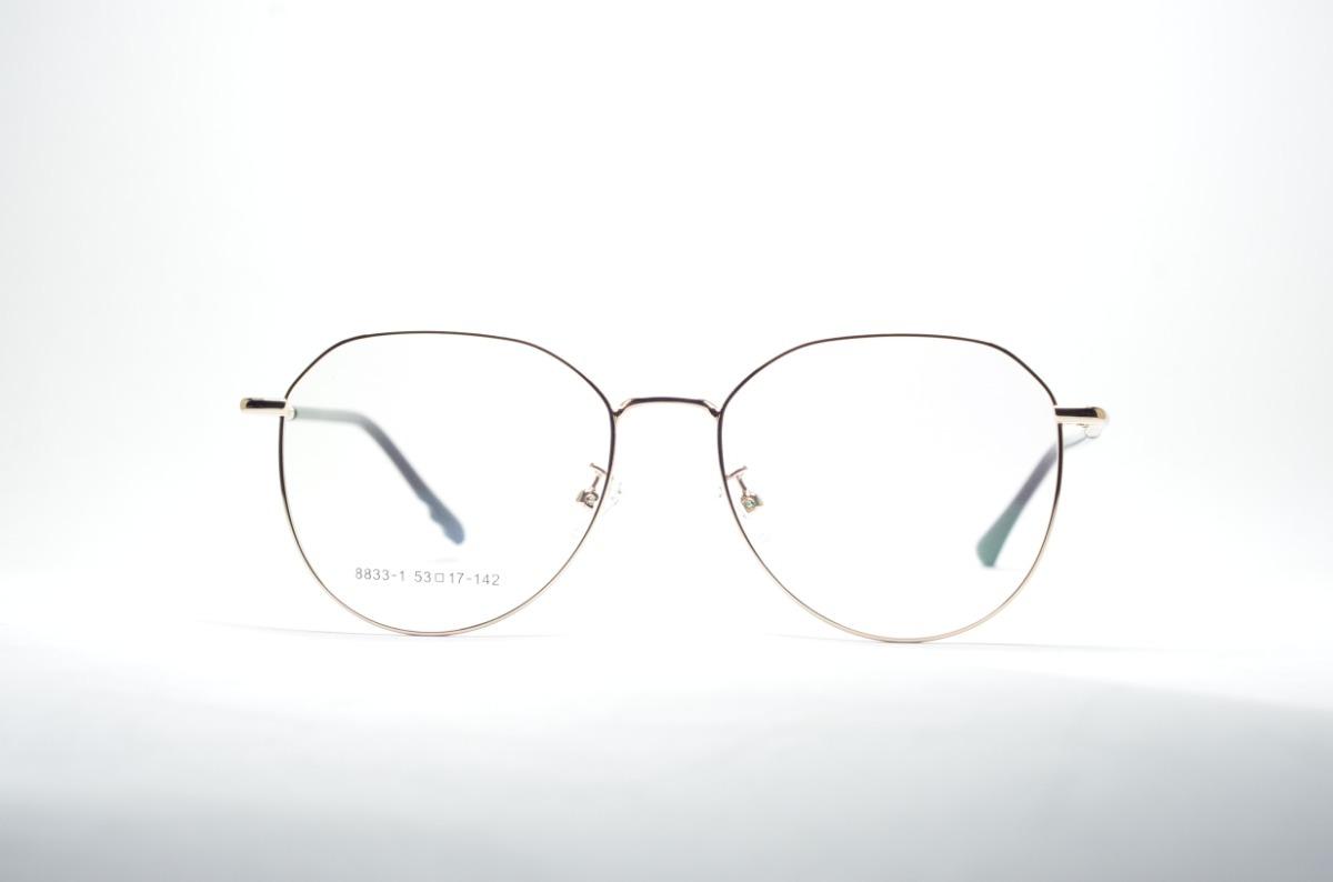 ae45668c4 Armação P/ Grau Óculos Redondo Feminino Grande E Estiloso - R$ 74,99 ...