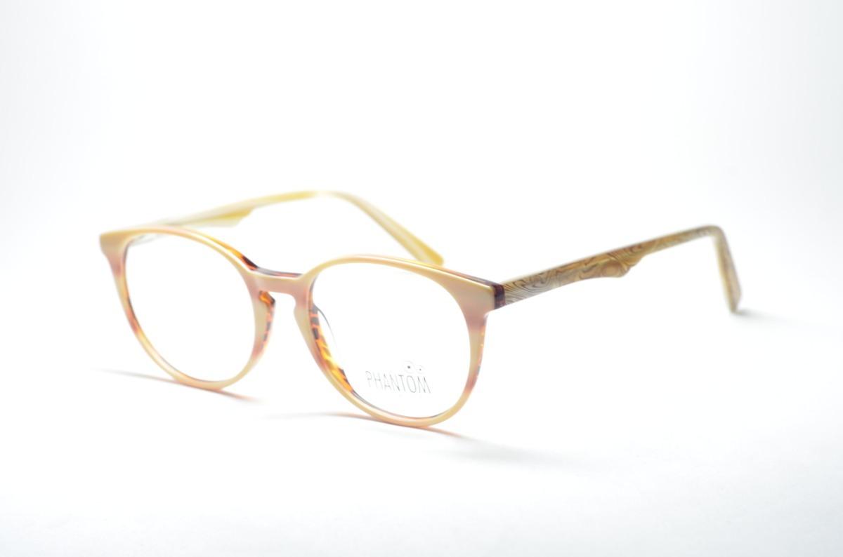085af82ed Armação P/ Grau Óculos Redondo Nude E Rosa Acetato Estiloso - R$ 74 ...