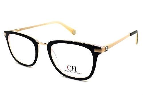 29dc2143ba3ae Armação P  Óculos De Grau Carolina Herrera Feminino Acetato - R  123 ...