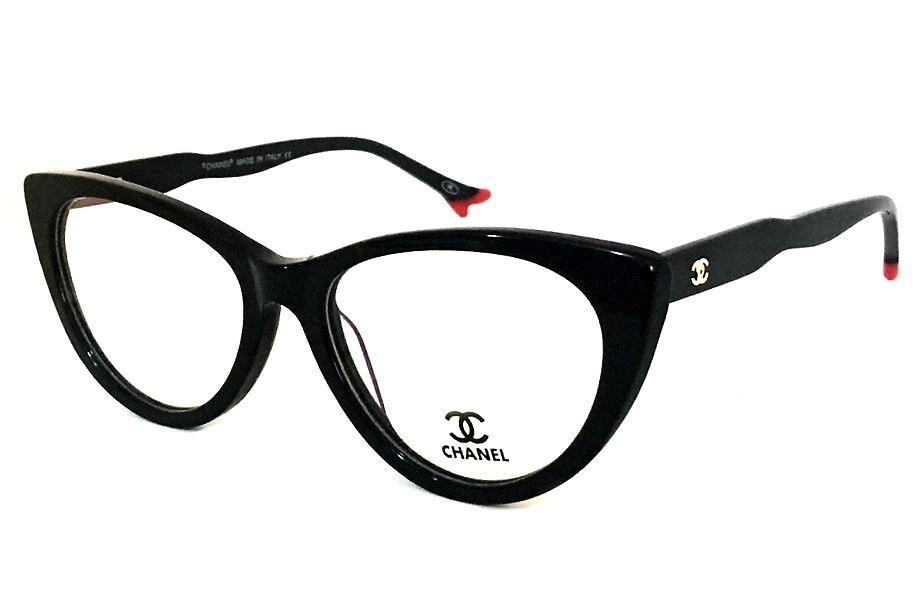 253d6780037ea armação p  oculos de grau ch80510 gatinho acetato feminino. Carregando zoom.