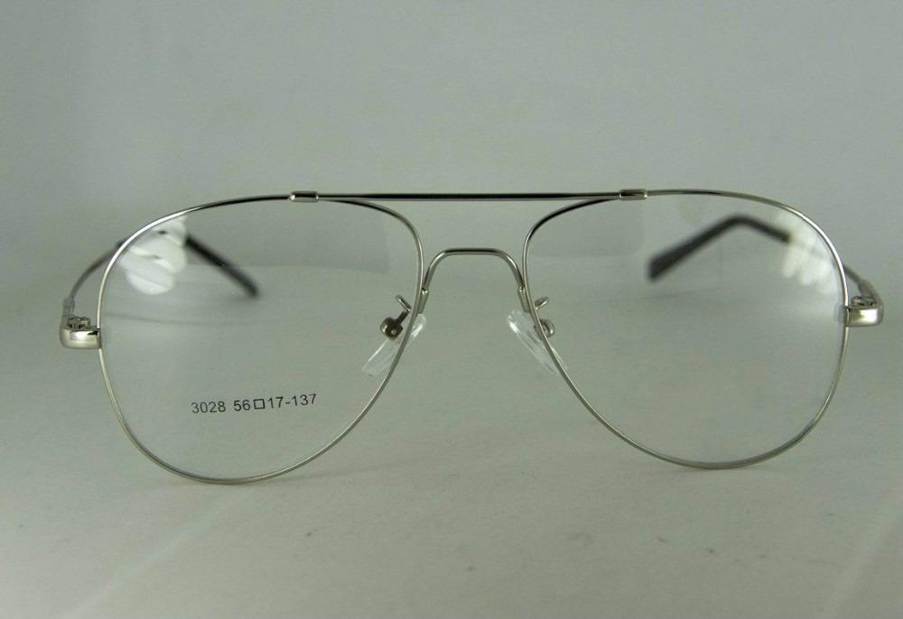 057df6f105025 armação p  óculos de grau em titânio memory - modelo aviador. Carregando  zoom.