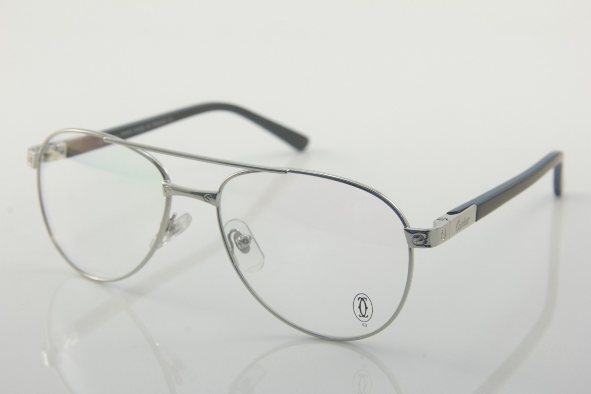 a32b1cb04fd10 armação p  óculos de grau feminino cartier 48177. Carregando zoom.