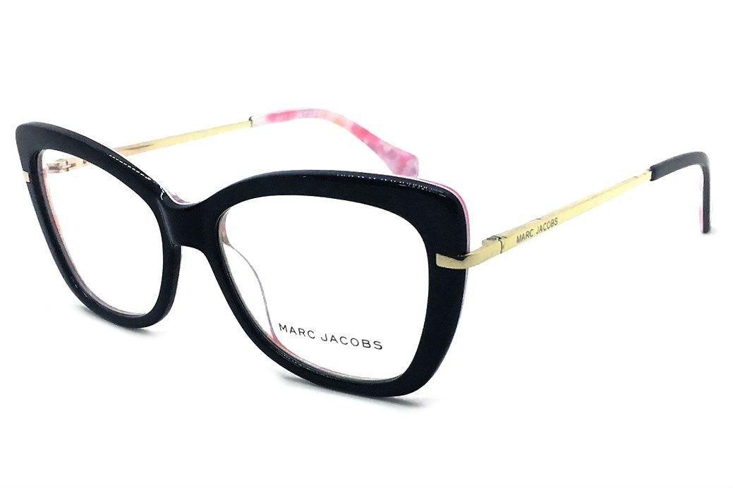 0c48ce5e1ab14 armação p  oculos de grau feminino marc jacobs mj545 prime. Carregando zoom.