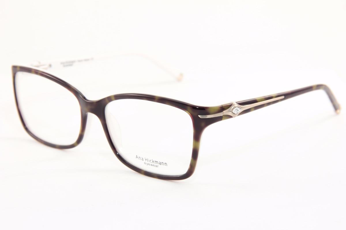 f109707d6 Armação P/ Óculos De Grau Feminino Marcas Famosas 6132 - R$ 120,00 ...