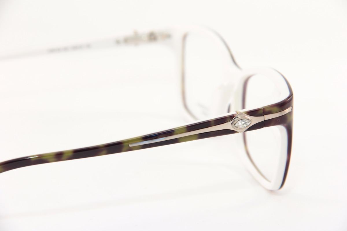 1291d1e67 Armação P/ Óculos De Grau Feminino Marcas Famosas 6132 - R$ 120,00 em  Mercado Livre