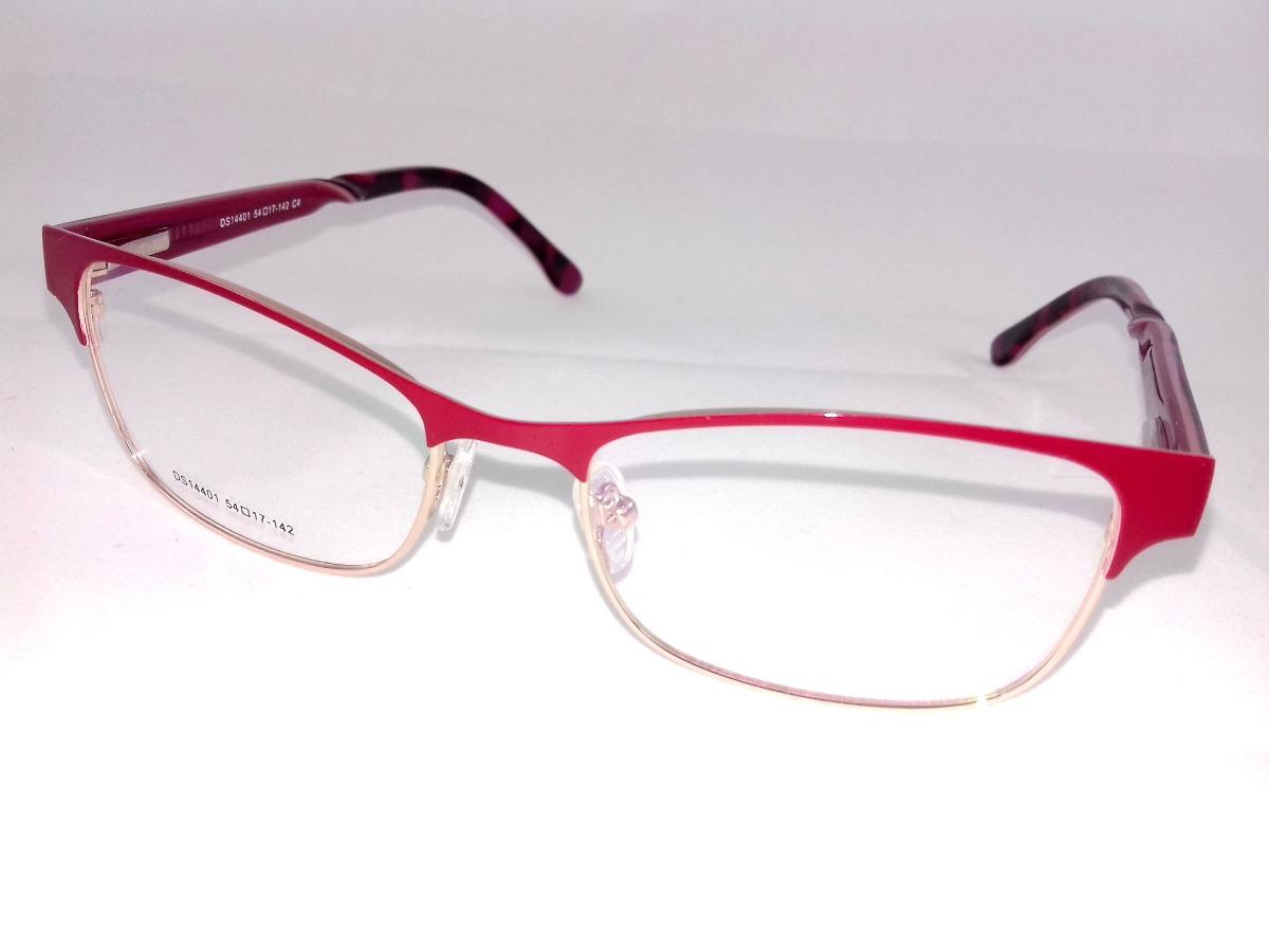 49acdad392fa5 Armação P  Óculos De Grau Feminino Vermelho Aro Fechado!!! - R  47 ...