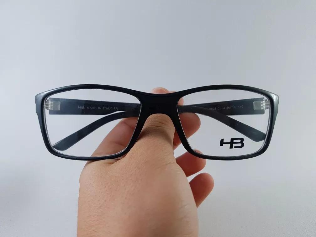 b0b85ddcf Armação P/ Óculos De Grau Masculina Surfista Hb Preto - R$ 129,00 em ...