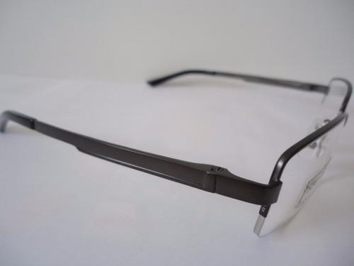 b29a5e1b Armação P Óculos De Grau Masculina Ys 47548 Titanio Grafite - R$ 89 ...