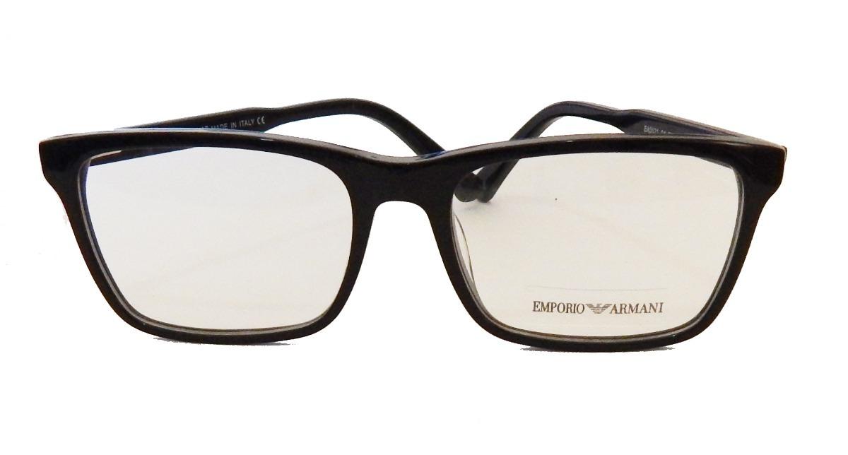 armação p  óculos de grau masculino empório ea3121 preto. Carregando zoom. 62783119a7