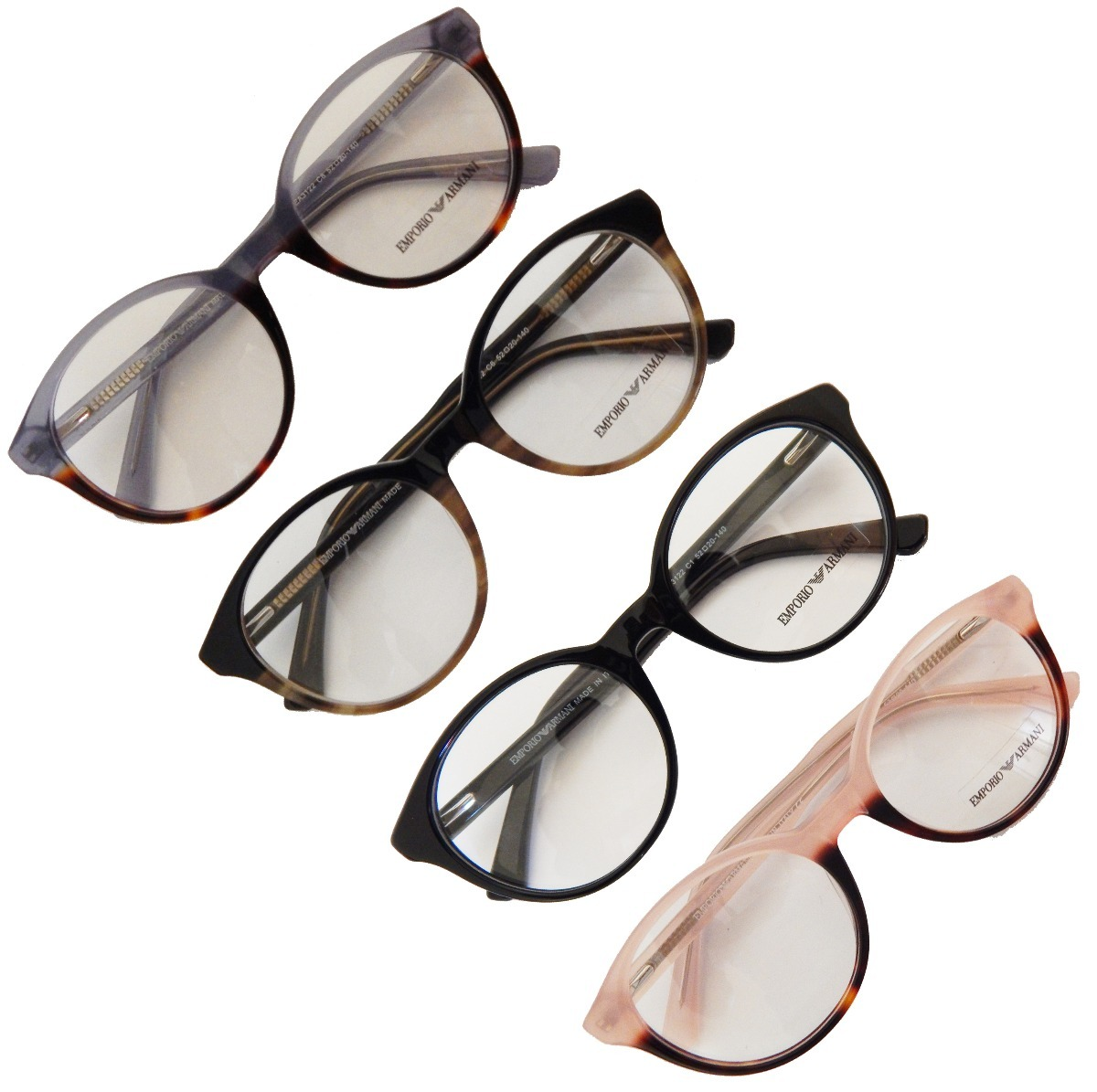 armação p  óculos de grau masculino feminino ea3122 redondo. Carregando  zoom. 0b86fb9bde