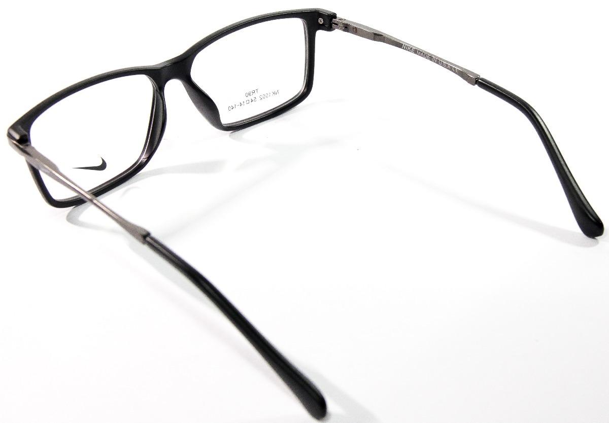 fd5f9483d1bdc Armação P  Óculos De Grau Masculino Nike Promoção Original - R  120 ...