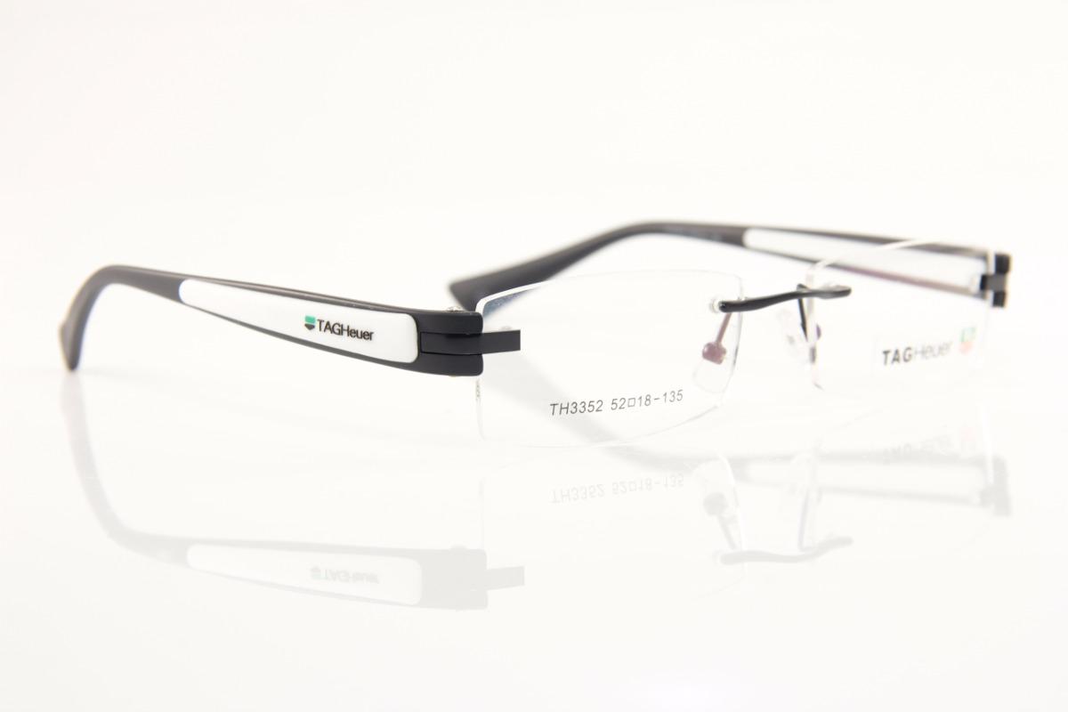 Armação P  Óculos De Grau Masculino Tag Heuer 3 Partes - R  99,00 em ... 1a999b4af8