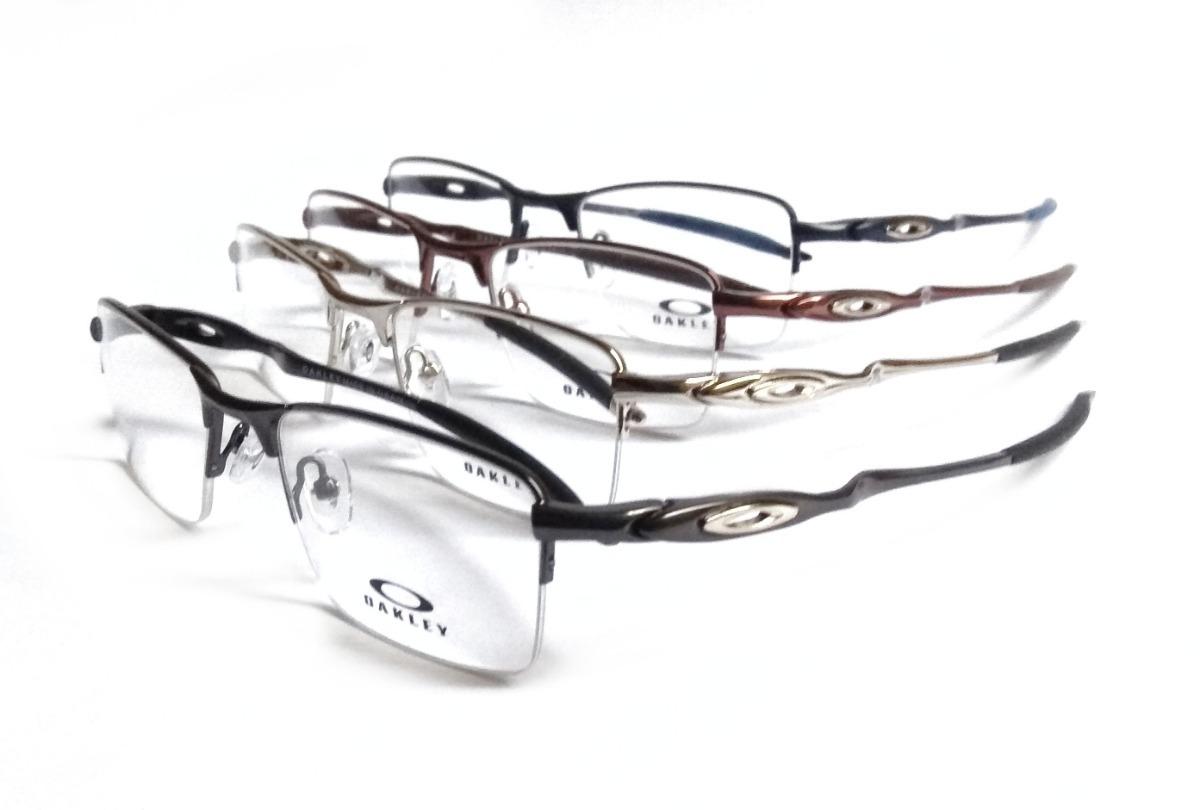 e9d5b54225bcb armação p  óculos de grau masculino titânio ox82 original. Carregando zoom.