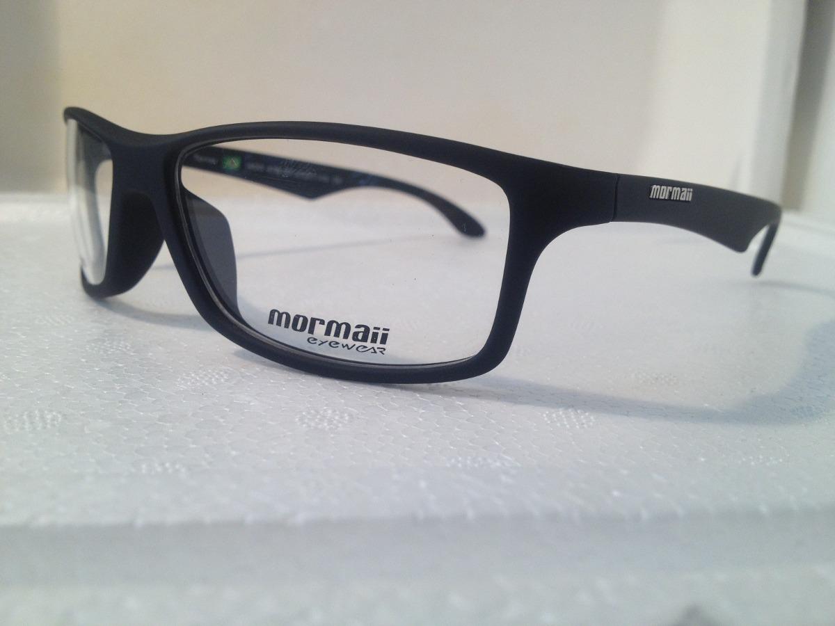 c2f0833b0ccad armação p  óculos de grau mormaii terral preto emborrachado. Carregando  zoom.