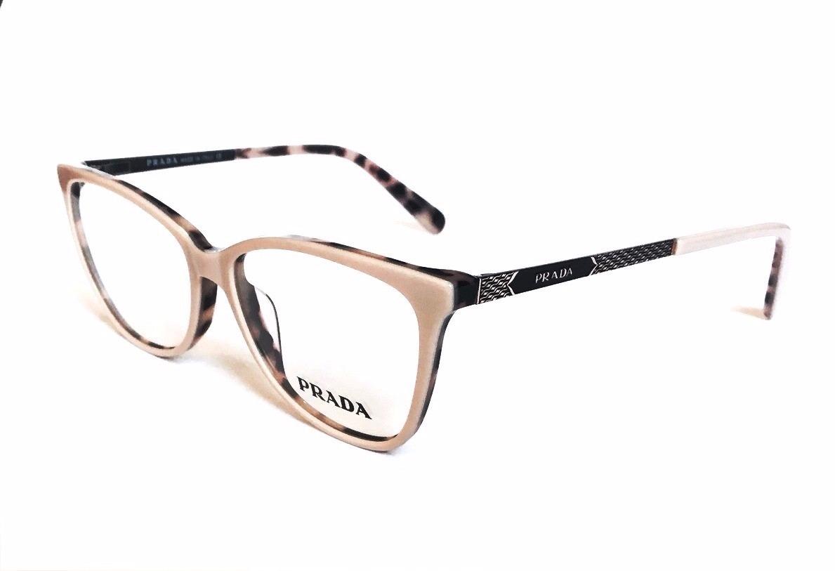 04f99deaaca9c Armação P  Oculos De Grau Prada Pr27 Acetato Original - R  95,40 em ...