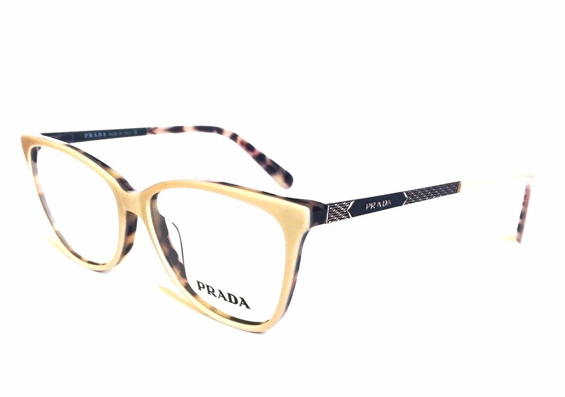 d7f2bb220e6fe armação p  oculos de grau prada pr27 acetato original. Carregando zoom.