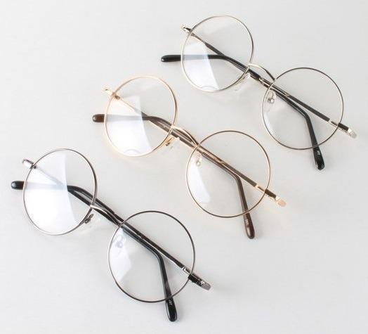 b7e5fa13b0cee Armação P  Óculos De Grau Round redonda