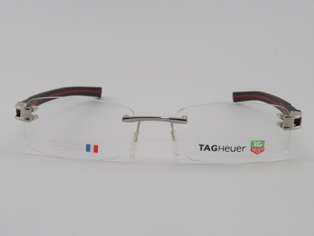 a793be08ce78a Armação P  Óculos De Grau Sem Aro Tag Heuer 2018 - R  199,00 em ...