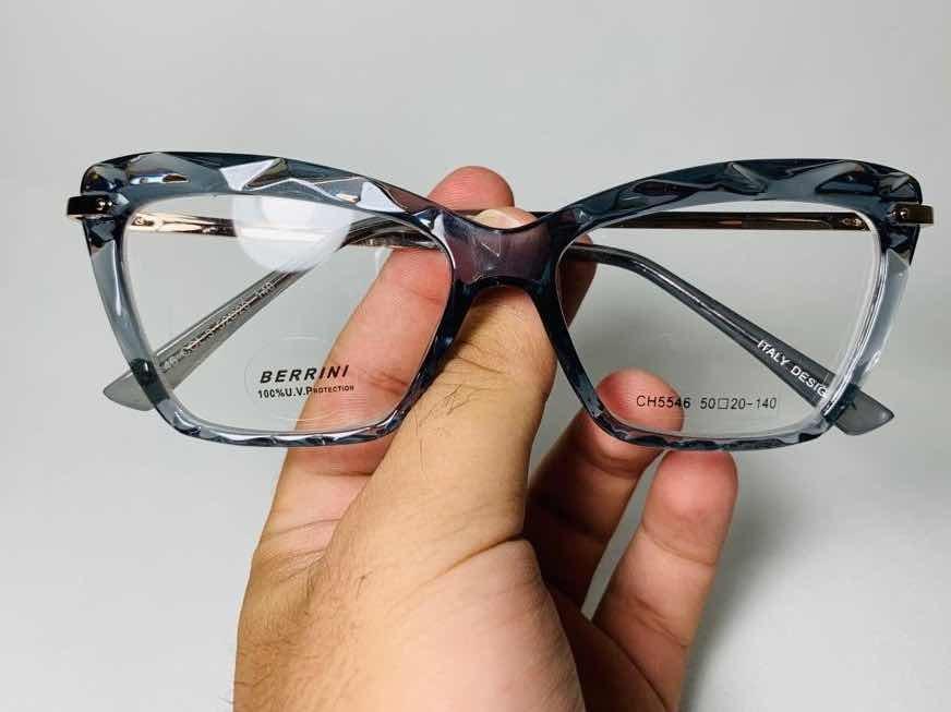 938444b3cd0b8 Armação P  Óculos Grau Diamante Cinza C  Pernas Dourada - R  129