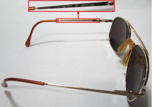 9ddf4605eb4f0 Armação P  Óculos Masc fem Luxottica Italy Original (usado) - R  290 ...