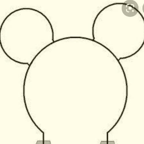 armação para bexigas do mikey mouse