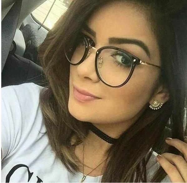 0671100dedbee Armação Para Grau Feminino Oculos Barato Moda Gato Promoção - R  79 ...